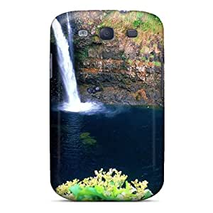 VSh9060vlHx Case Cover Water Landscapes Nature Waterfalls Galaxy S3 Protective Case