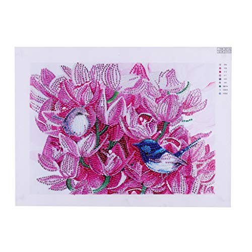 (OrchidAmor Special Shaped Diamond Painting DIY 5D Partial Drill Cross Stitch Kits Crystal)
