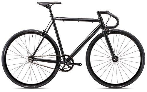 FUJI(フジ) TRACK ARCV シングルスピード ロードバイク 19TRKABK52 MATTE BLACK 52cm   B07G2HDLY9