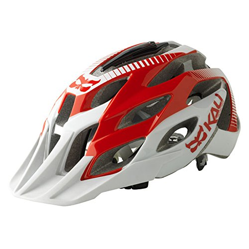 Kali Protectives Amara Helmet with Mount, Trail Red, Small/Medium