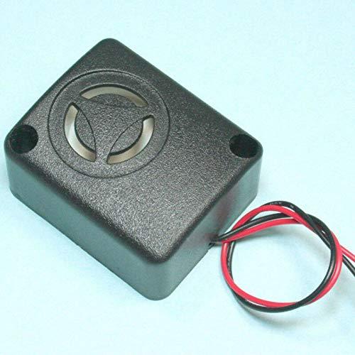 FidgetFidget 1X Black Mini Piezo Alarm Siren 110dB (6 – 15 VDC) Safes Anti-Theft Alarm Useful