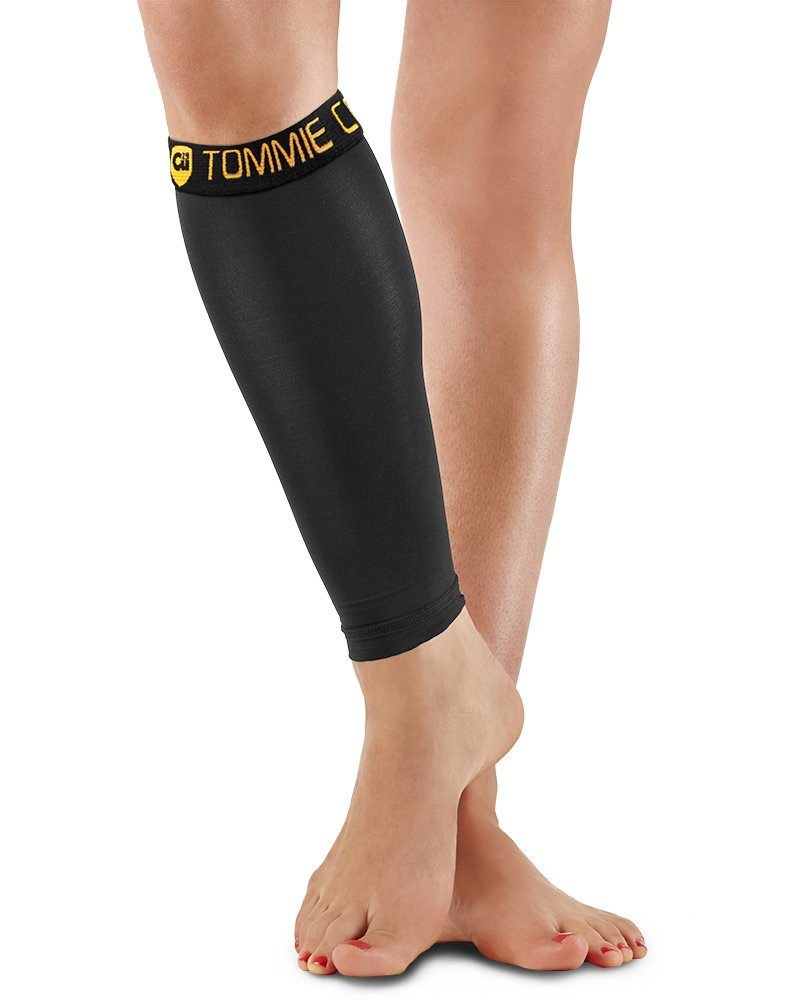 cd0d94741cd227 Amazon.com : Tommie Copper Calf Sleeve, Black, X-Large : Cycling Legwarmers  : Sports & Outdoors