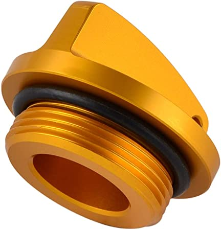 Color : Gold Tappo Olio Motore Spina for Kawasaki Z250 Z750 LIWENCUI S Z1000 Ninja 250 250R 300 ZX6R ZX6RR ZX9R ZX10R ZX12R ZX14R VERSYS GPZ 400R