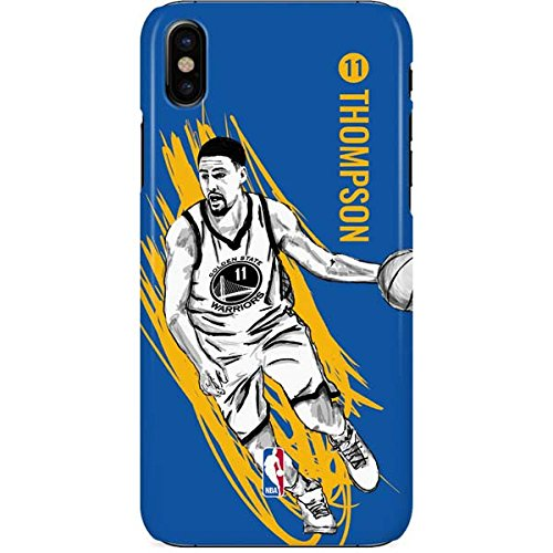 finest selection 198de b2431 Amazon.com: Golden State Warriors iPhone X Case - Klay ...