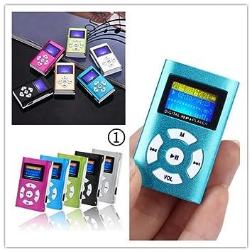 CHshe - Mini Reproductor de MP3 portátil con Pantalla LCD ...