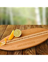 Personalized Surfboard Cutting Board