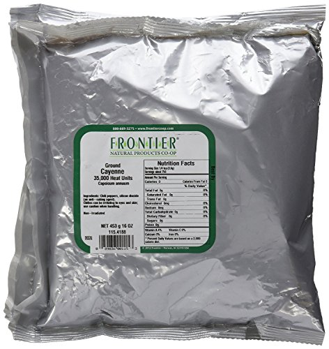 Frontier Spices, Cayenne Pepper, 16 Ounce