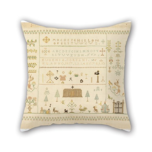 The Oil Painting Eugenia Corsani - Sampler Pillow Shams Of ,18 X 18 Inches / 45 By 45 Cm Decoration,gift For Club,coffee House,deck Chair,kids,father,wife (twice Sides)