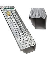 """A-M Aluminum Gutter Guard 5"""" (200', Mill Finish)"""