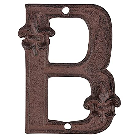 DB62-A 8.4 x 1.2 x 12.2 Esschert Design Hausnummer A rostbraun
