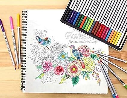 Amazon.com: Premium Quality Assorted Drawing Deli Colored Pencils ...