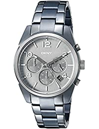 Dkny Men's Crosby NY2441 Grey Stainless-Steel Quartz Watch