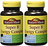 (2 Pack) – Nature Made Super B Energy Complex, 60 Softgels each. Review