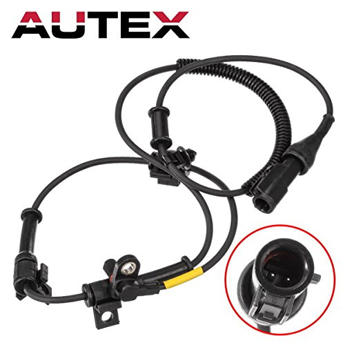 (AUTEX 1pc ABS Wheel Speed Sensor Front Left/Right 6C3Z2C204BA ALS505 BRAB323 5S5896 695116 compatible with Ford F-250 Super Duty & F-350 Super Duty 2005 2006 2007 2008 2009 2010 )