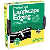Valley View PRO-20 20-Foot Professional Black Landscape Edging