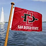 SDSU Aztecs Golf Boat Mini Flag