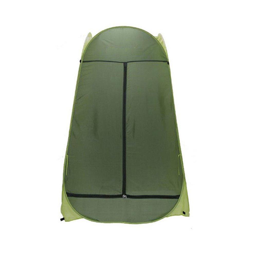 RFVBNM Draußen Doppel-Tür-automatische Angeln Zelt Bergsteigen Badezimmer Modell außen Umkleidekabine mobile Toilette