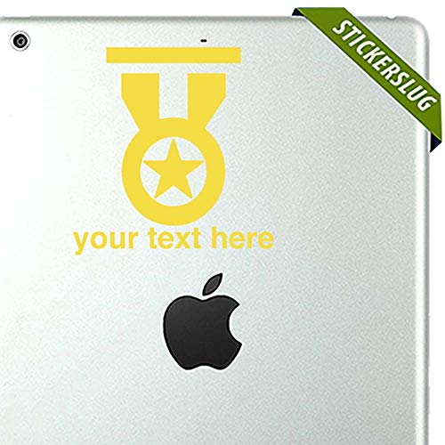 Medal of Honor Custom Decal Sticker (Yellow, 5 inch) Removable for Wall b11761