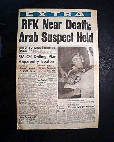 robert-f-kennedy-rfk-shot-still-alive-1968-santa-monica-california-newspaper-evening-outlook-extra-s