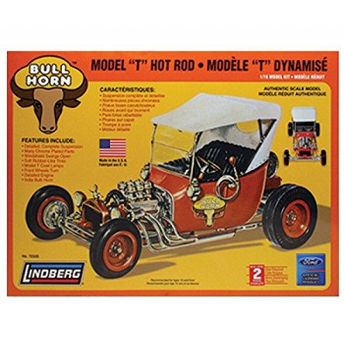 Lindberg Models Bull Horn Model T Hot Rod Building Kit ()