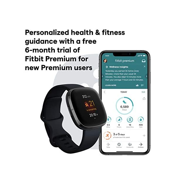 Smartwatch with Tools for Heart Health, Stress Management & Skin Temperature Trends