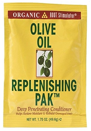 Organic Root Stimulator Olive Oil Replenishing Pack, 1.75 oz (Pack of 6)