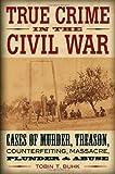 True Crime in the Civil War, Tobin T. Buhk, 081171019X