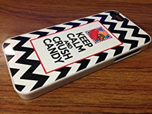 Candy Crush iPhone 4/4S white Silicone Case phone Case wangjiang maoyi by lolosakes