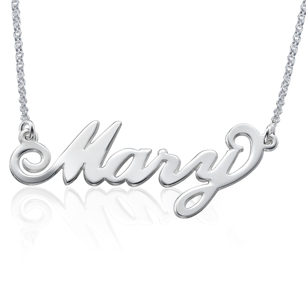 06f2b52b6e8c7 MyNameNecklace Personalized Name Necklace-Custom Pendant - Gift for Her