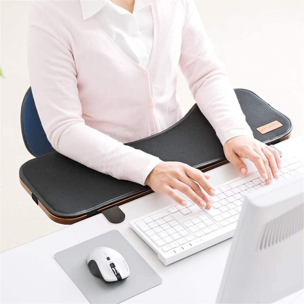 Sk Studio Ergonomie Schreibtisch Extender Tastatur Handgelenkauflage Tabelle Mounted Armlehne Regal Elbow Ablageständer Um Kippen Und Fold Down Braun 65x23x2cm Bürobedarf Schreibwaren