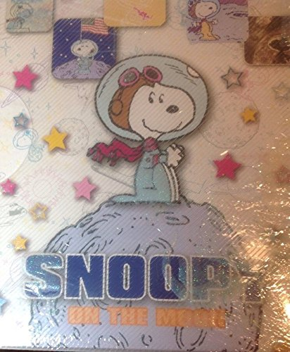 Peanuts Snoopy On The Moon Photo Album Astronaut