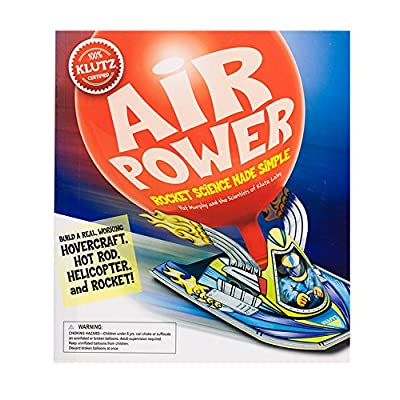 Klutz Air Power: Rocket Science Made Simple Craft Kit: Murphy, Pat: Toys & Games