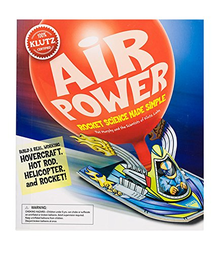 Air Power Rockets - Klutz Air Power: Rocket Science Made Simple Craft Kit