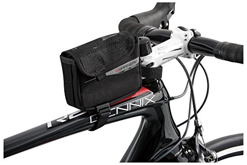 Louis Garneau Gel Box Adjustable Triathlon Bike Frame Cycling Bag for Fuel and Accessories - Aero Tri Top