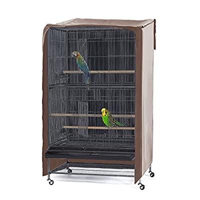 PONY DANCE Pets Product Universial Birdcage Cover Blackout & Breathable Material