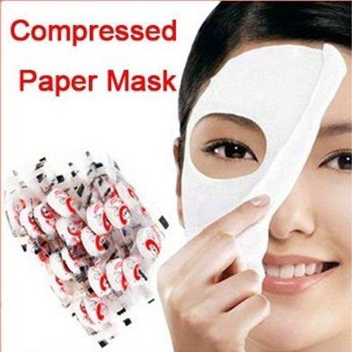 KMG 100 pcs Skin Face Care DIY Facial Paper Compress Masque Mask by NOR KMG