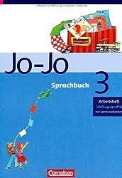 Jo-Jo Sprachbuch - Ausgabe C: 3. Schuljahr - Arbeitsheft in Schulausgangsschrift: Mit Lernstandsseiten