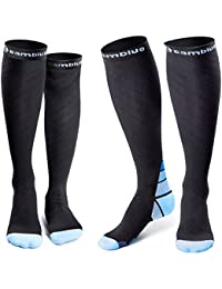2 Pairs Compression Socks for Women & Men, 20 30 mmHg