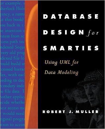 Database Design For Smarties Using Uml For Data Modeling The