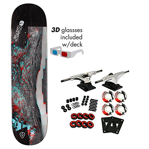 Alien Workshop Skateboard - Alien Workshop Skateboard Complete Embrace Mars (Assorted) 8.25