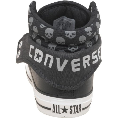ca14509f5a Womens Converse CT All Star Padded Collar 2 Mid Leather Skulls Black Girls  Ladies (6.5 UK 6.5 Euro 39.5 US 8.5): Amazon.co.uk: Shoes & Bags