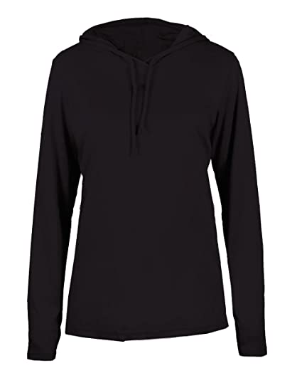 fddf38e90 Adult Black Long Sleeve B-Core 2X Performance Sports Hoodie Wicking T-Shirt