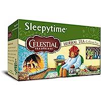 Pack of 3 x Celestial Seasonings Herbal Tea - Sleepytime - Caffeine Free - 20 Bags