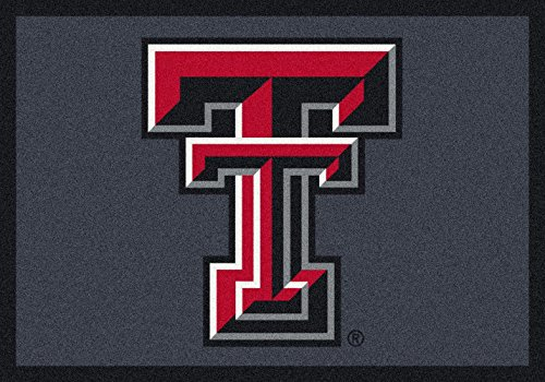 Texas Tech Rug - American Floor Mats Texas Tech Red Raiders NCAA College Team Spirit Team Area Rug 3'10