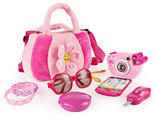 - SainSmart Jr. Toddler Purse My First Purse with Pretend Play Set for Princess 9 PCS