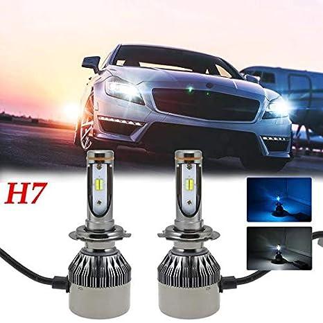 Dual Color H7 Philips LED bombillas para faros delanteros para 2014 - 2017 RAM Promaster 1500 2500 3500: Amazon.es: Coche y moto