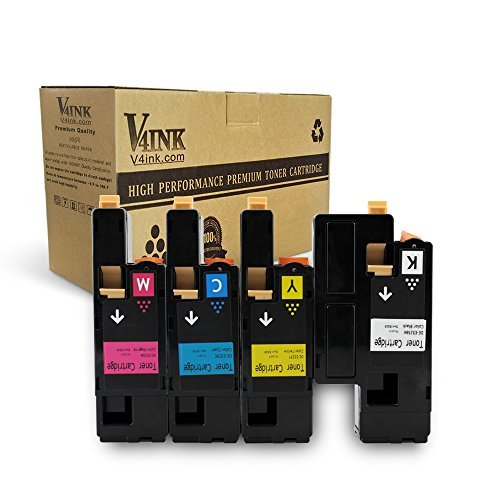 V4INK Compatible Toner Cartridge Replacement for Dell 1250 ,