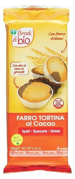 Probios Break&Bio Pastel de Espelta Al Cacao - 12 paquetes