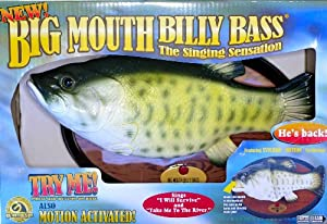 Billy bass the singing fish is back toys for Billy bass fish