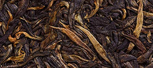 Rong's 2009 [Early Spring Yulu] Pu'er raw tea,Qizibing Tea [Rong's 10-year Thanksgiving Return] High fragrance,The palate is rich and full,Air foot rhyme length,98.7 ounces,Send mahogany tea needles by Rong's (Image #3)